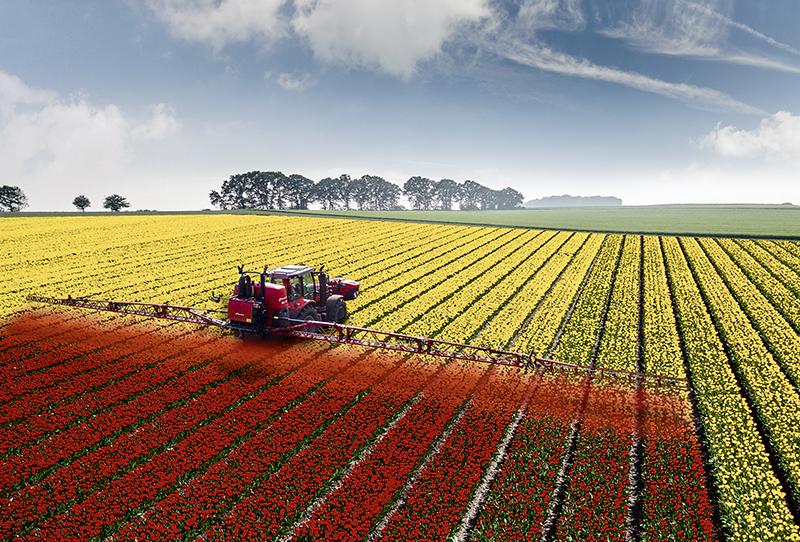 Kverneland Pflanzenschutzspritzen sind jetzt rot
